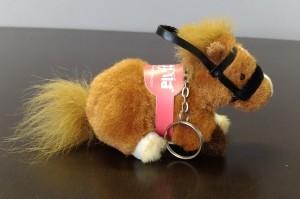 馬のキーホルダー